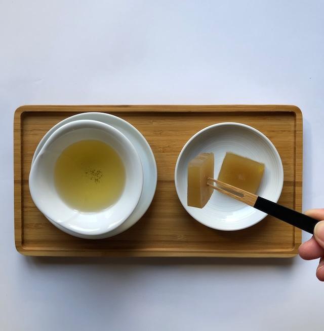 つわの栗菓┃ざら茶と和栗の羊羹