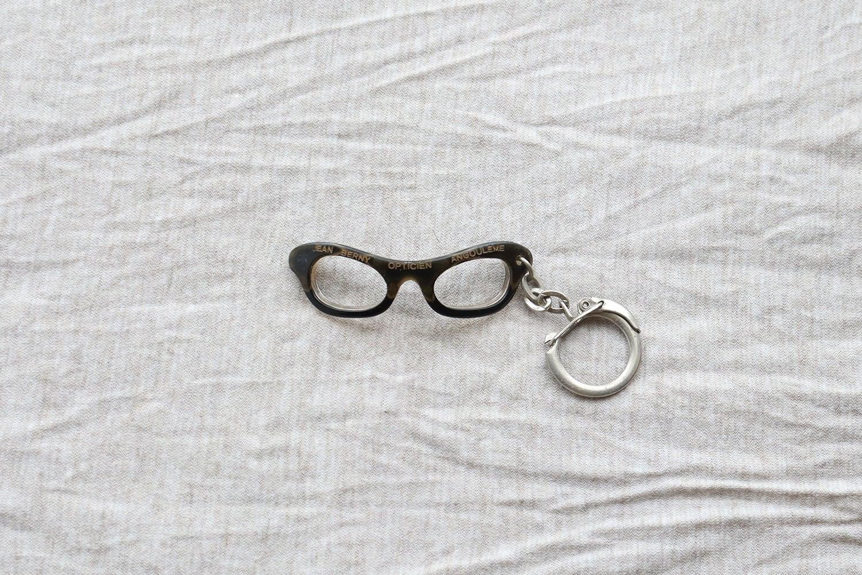 【フランス】メガネのキーホルダー/ JEAN BERNY