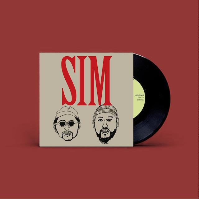 """SIM BROS. 7inch vinyl """"FLYING / NO EVIL"""""""