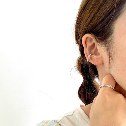 SVRZ  Kumihimo 〜組紐〜ear-cuffイヤカフ