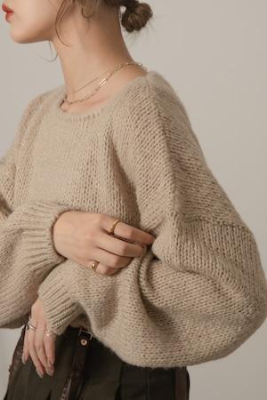 dutch neck knit