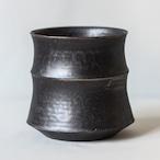 Roughness Black Plants Pot(No,01)※LARGE
