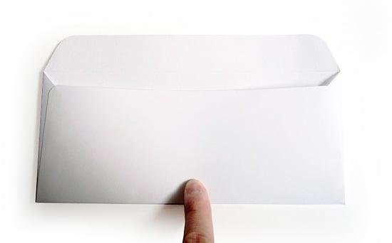 耳型のりしろ封筒(20枚組)