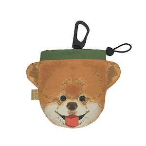 犬のウンチバッグ S【ポメラニアン】防臭生地 / デオドラント加工布使用