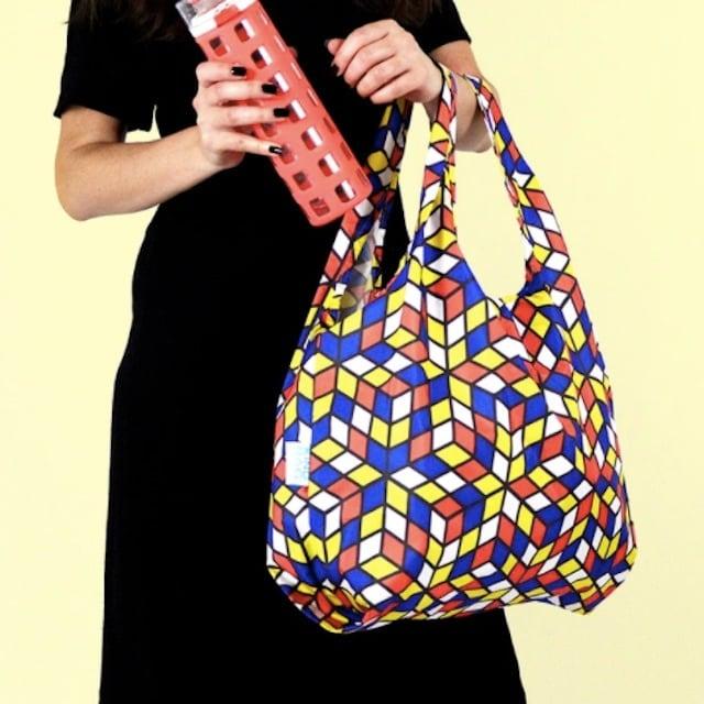 KIND BAG -LONDON- Eco bag Cubes Reusable エコバッグ M