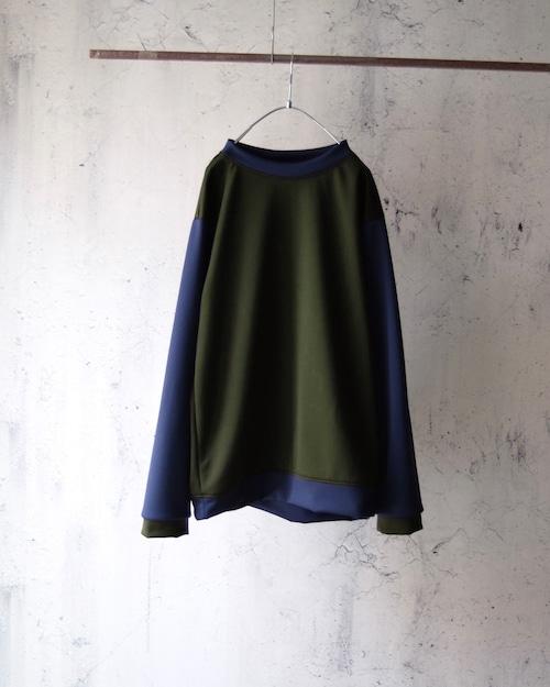 Eldritch Jersey Tops(switching sleeve)khaki body