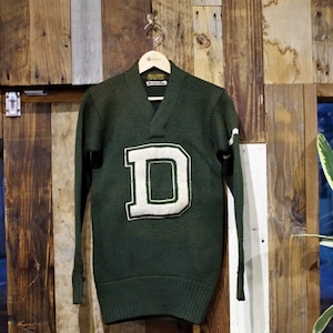 """1930s LOWE & CAMPBELL Lettered Sweater """"Dartmouth College"""" / ロウアンドキャンベル アスレチック セーター"""