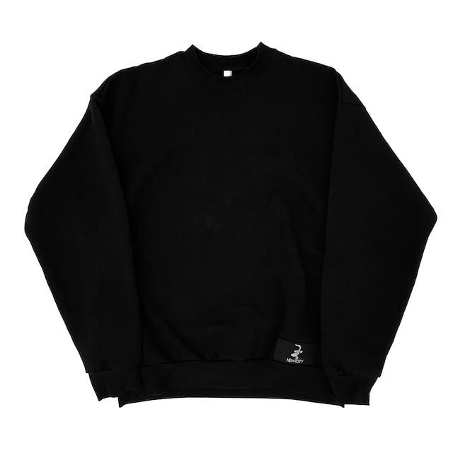 NEWTCITY Official Sweat Black