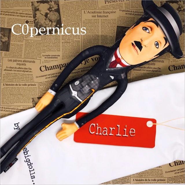 クッションドール【チャーリー・チャップリン】 浜松雑貨屋 C0pernicus