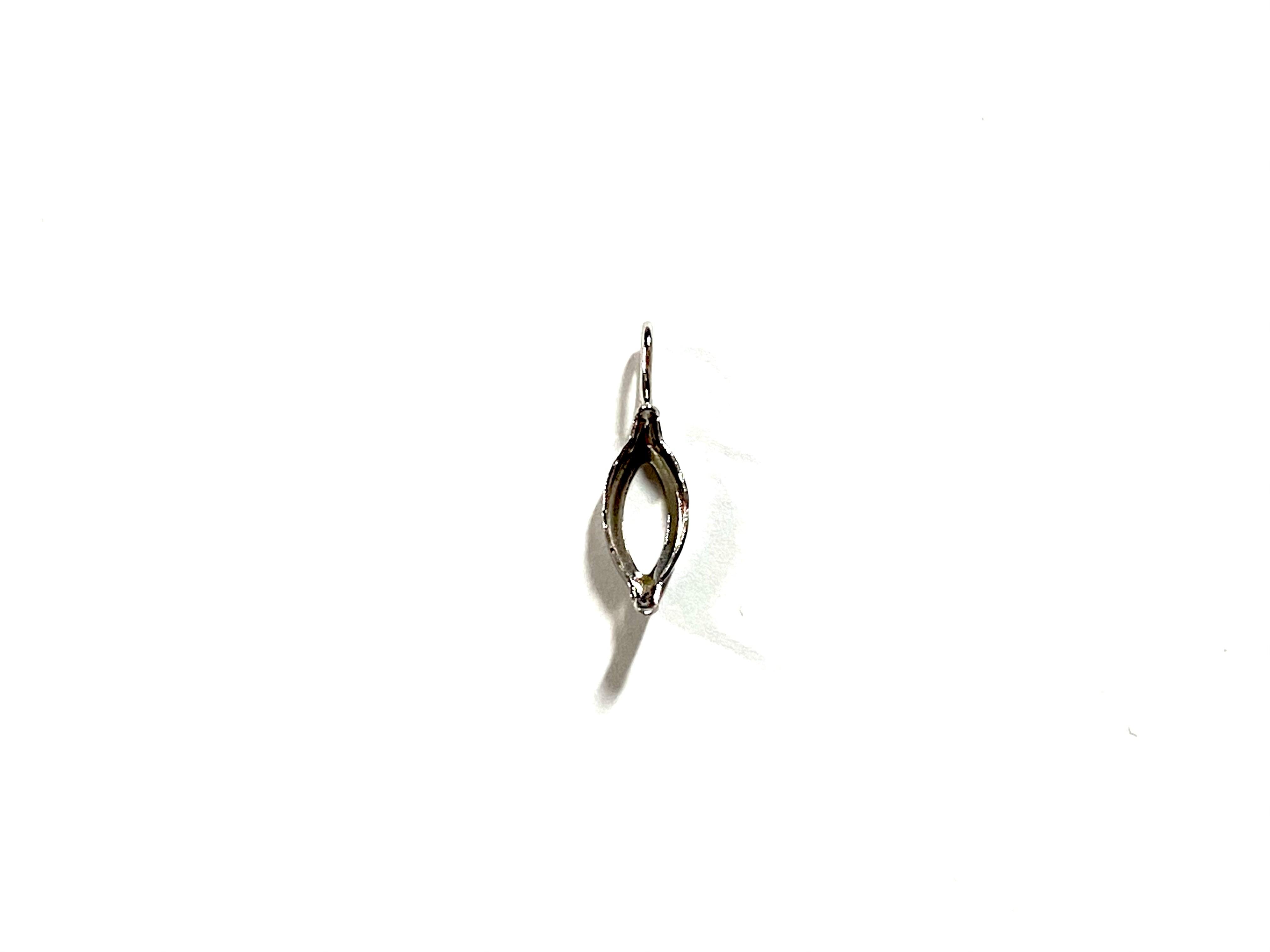 【K10WG】『タテ5mm ヨコ2.5mm 』マーキース対応空枠 [空枠No,27]