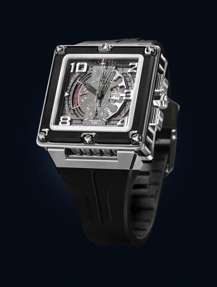 【TIRET ティレット】GOTHAM AUTO CHRONO BLACK ゴッサム(ブラック)/国内正規品 腕時計