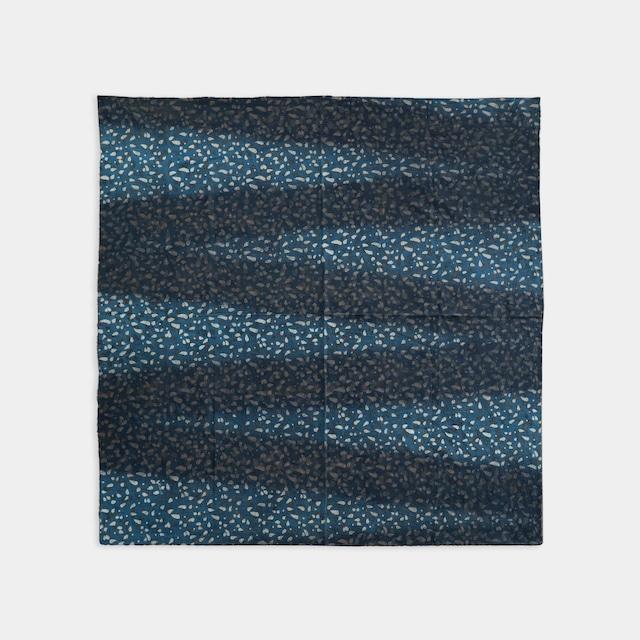 Shiori Mukai Textile 036 向井詩織 ブロックプリント 約97×98cm