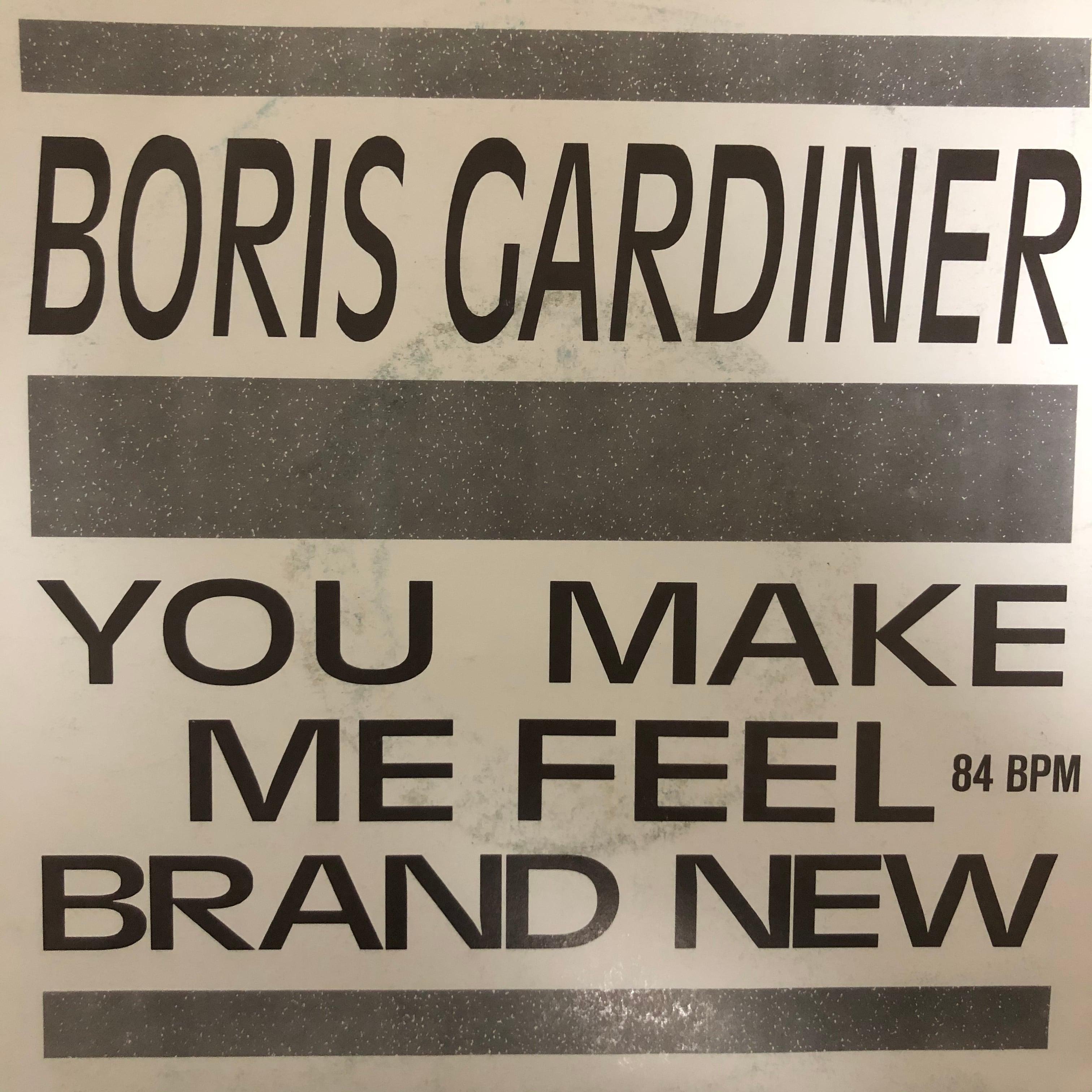Boris Gardiner - You Make Me Feel Brand New【7-20485】