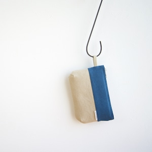 CANVAS FLAT POUCH S / RB×GB