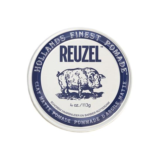 Reuzel(ルーゾー)  クレイマットポマード 水性ストロングホールド 白缶 113g
