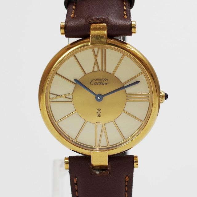 Cartier カルティエ マスト ヴァンドーム  ヴェルメイユ クオーツ レディース 腕時計
