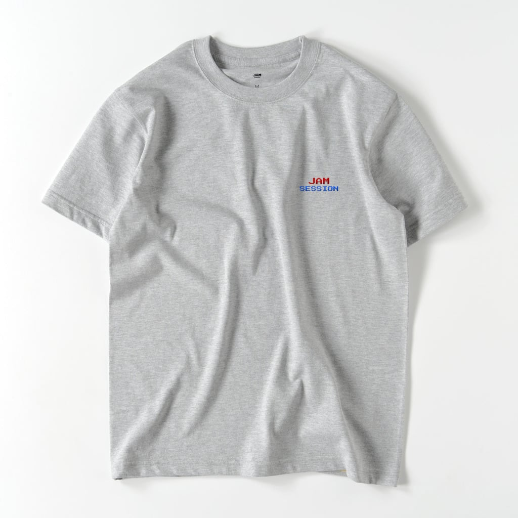 JAM SESSION EMBROIDERY T (GREY)