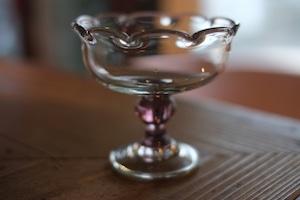 ◆三宅吹硝子工房◆三宅義一◆◆◆『⁂吹き硝子のデザートカップ』◆◆◆