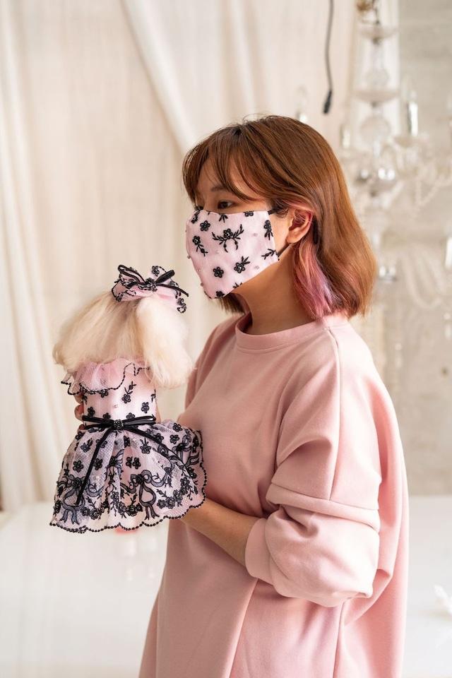 【予約】Pet a Portre La Mask de Ruban et Fleur ラ・マスク・ドゥ・ルバン・エ・フルール