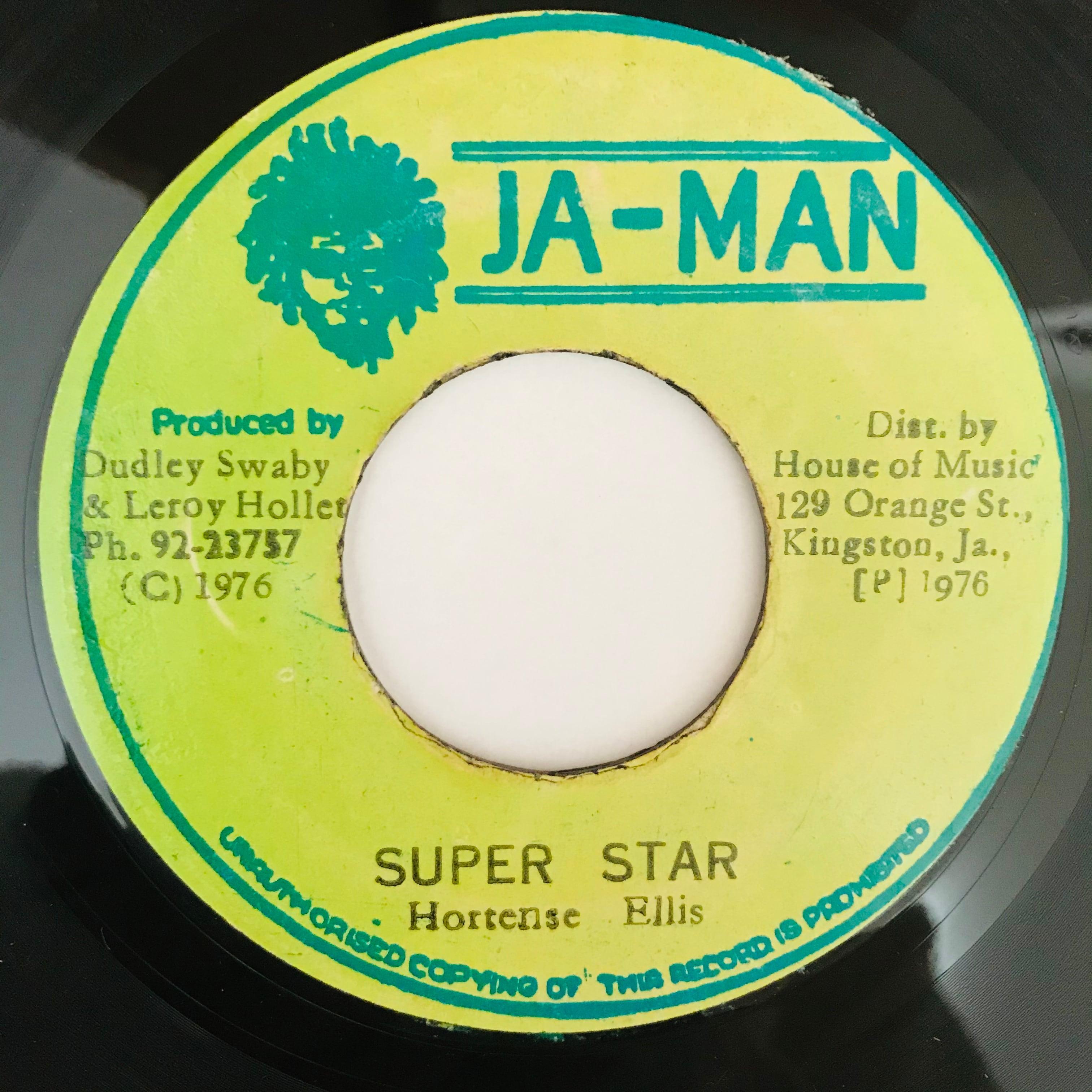 Hortense Ellis - Super Star 【7-10922】