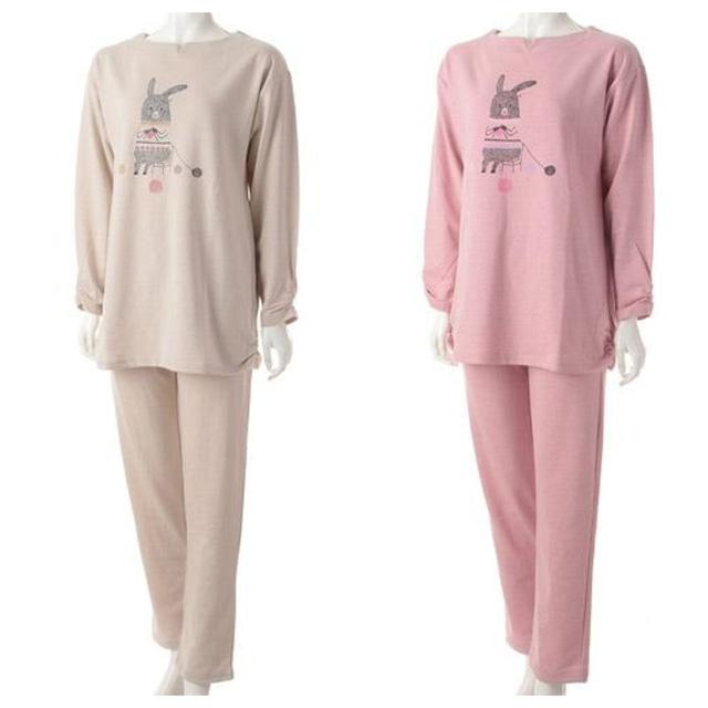 Shinzi  Katoh  編み物うさぎ パジャマ