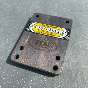 """REAL / 3-ply Risers  / 1/8"""" / RISER PAD / ライザーパッド / independent truck用"""