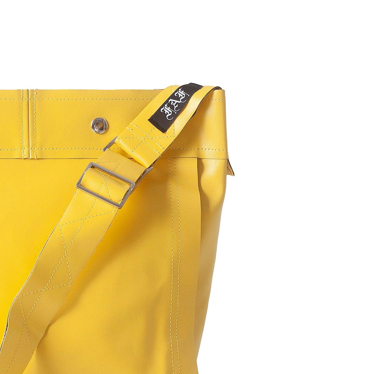 PVC CANVAS SMALL SHOULDER BAG / YELLOW GREEN - 画像2