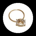 Stone Rings(ストーンリング)EMU015R-5 クリスタル