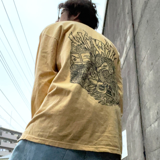 【WillxWill × Musollon】スペシャルコラボレーション Vulture Long Sleeve Yellow