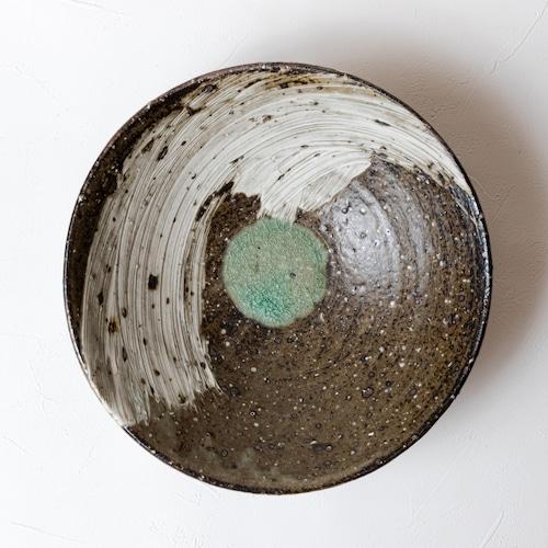 [中西申幸]刷毛目7寸鉢
