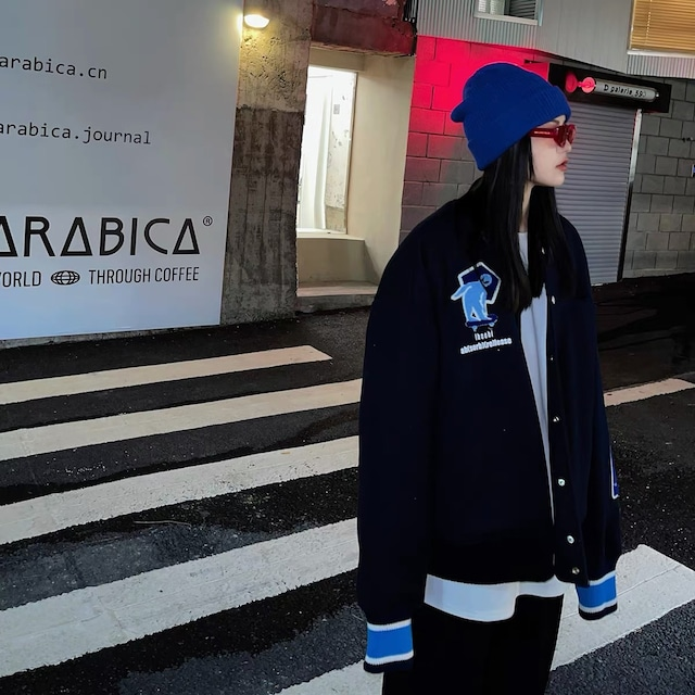 triangle sticker jacket