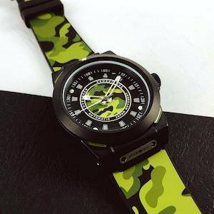 【HYDROGEN WATCH ハイドロゲンウォッチ】HW324209/SPORTIVO スポルティヴォ(グリーンカモフラ)/国内正規品 腕時計