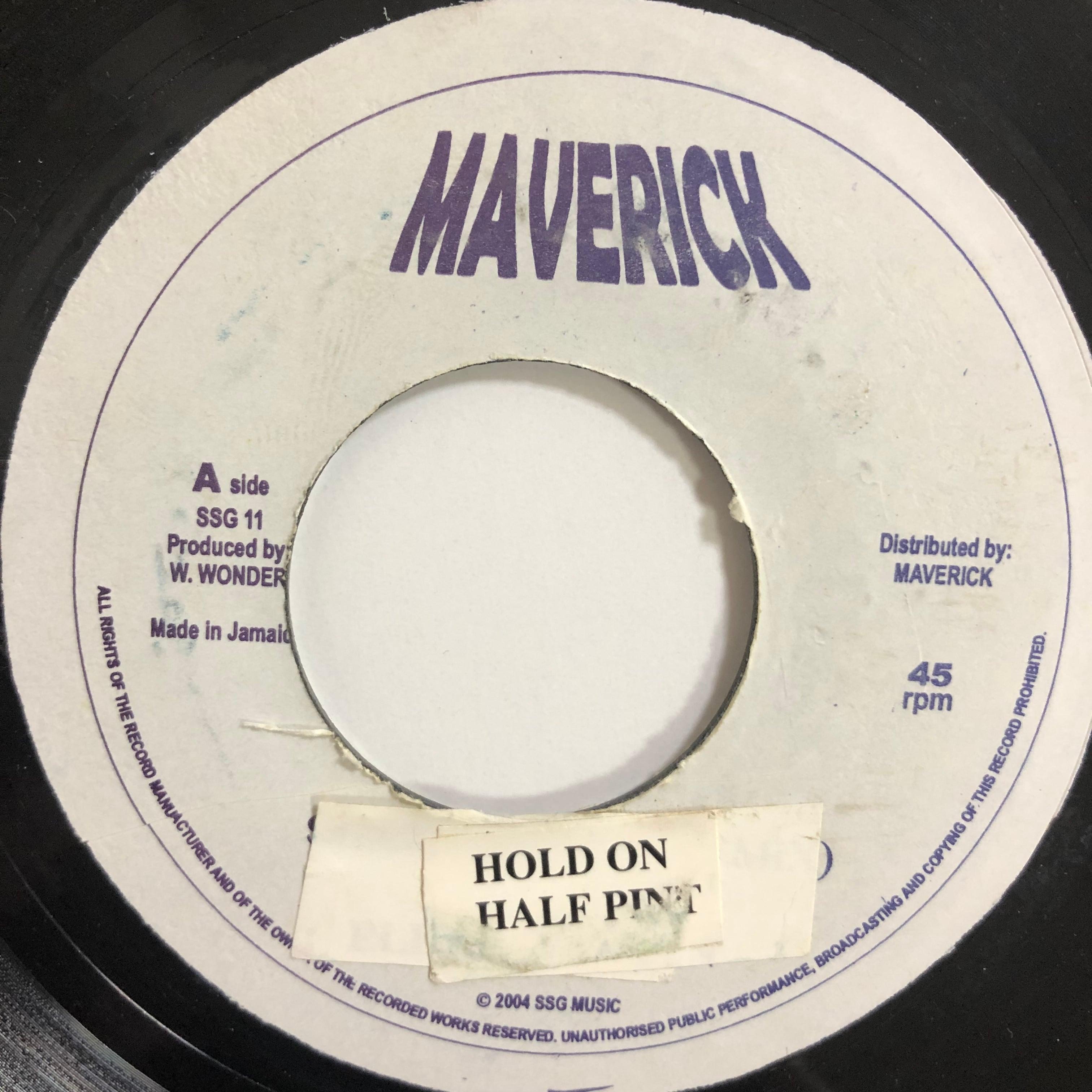 Half Pint(ハーフパイント) - Hold On【7-20226】