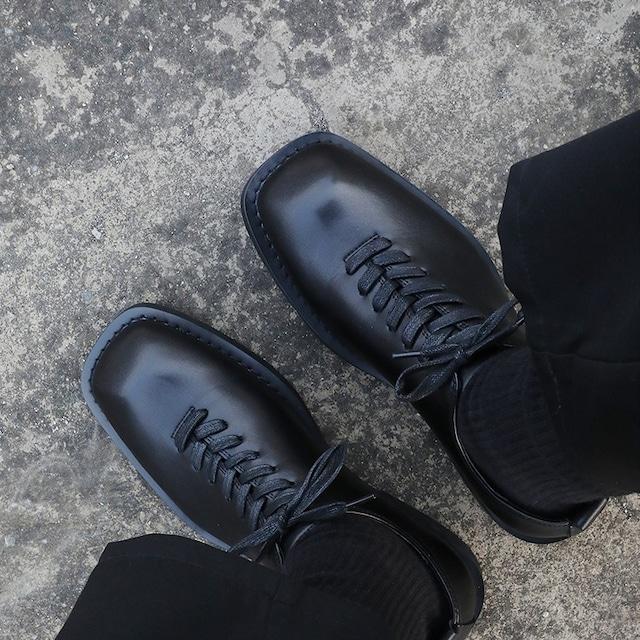 Porous mesh leather shoes   b-480