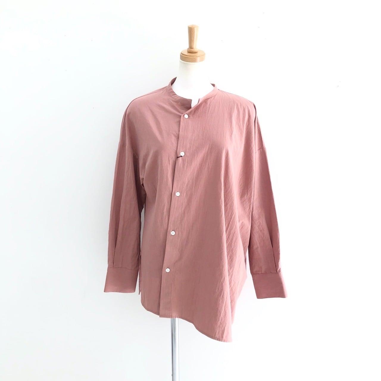 【 CHIGNONSTAR 】- 1202-036 - アシメシャツ