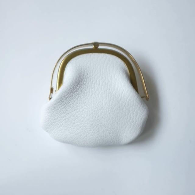 iremono - がま口 - blanc - ALRAN - goat leather