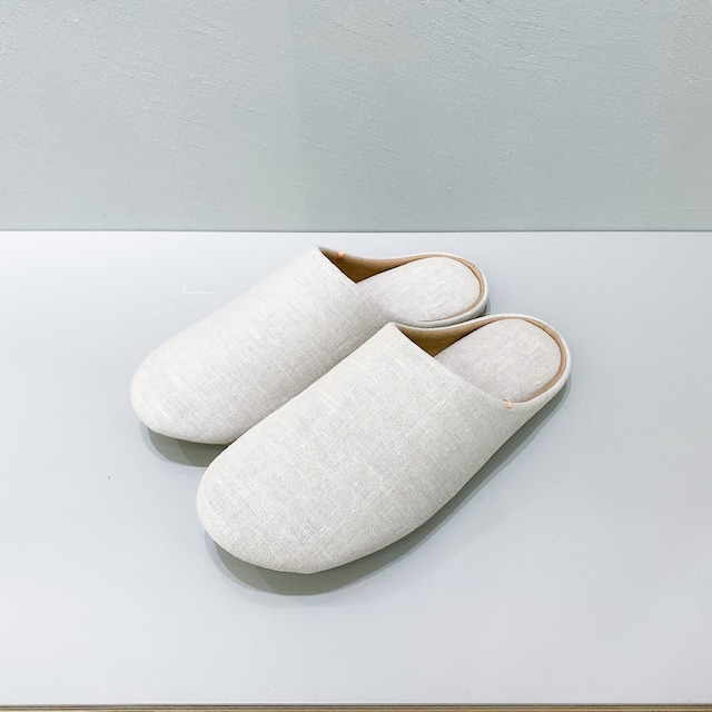 ABE HOME SHOES 麻のスリッパ|さふら