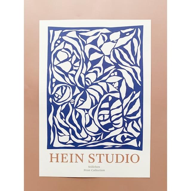 STILLBEN - A3 アートプリント/ポスター - LAELIA BLUE by HEIN STUDIO