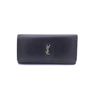 Yves Saint Laurent イヴサンローラン YSLモチーフ レザー 4連 キーケース ダークネイビー Accessories w2js36