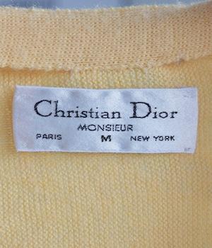 VINTAGE 80s Christian Dior CARDIGAN