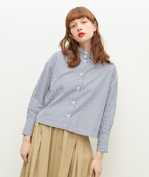 【SETTO】OKKAKE SHIRTS (NST) レディースシャツ シャツ ハイネックシャツ 日本製