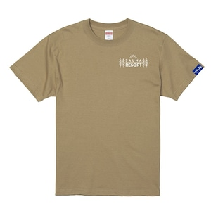 (新商品)【富士急サウナリゾート】ホテルマウント富士 オリジナルサウナTシャツ ベージュ