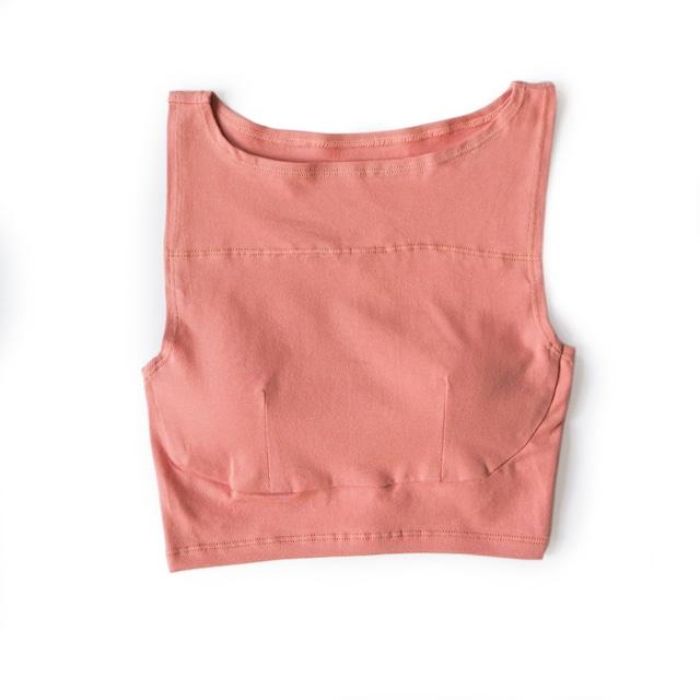 box croptop (dusty pink)