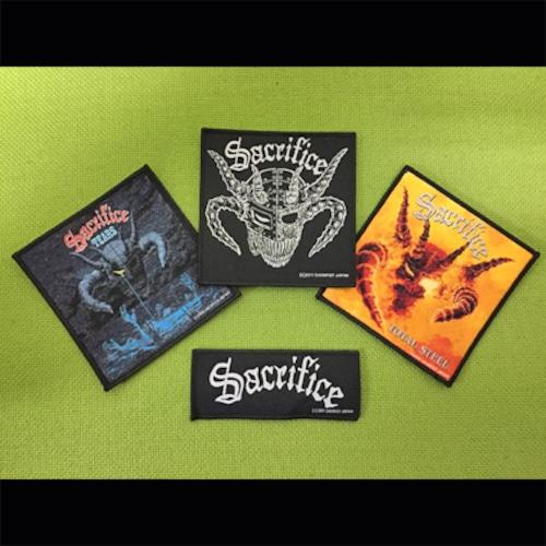 SACRIFICE 全種類スペシャルセット(刺繍パッチ)