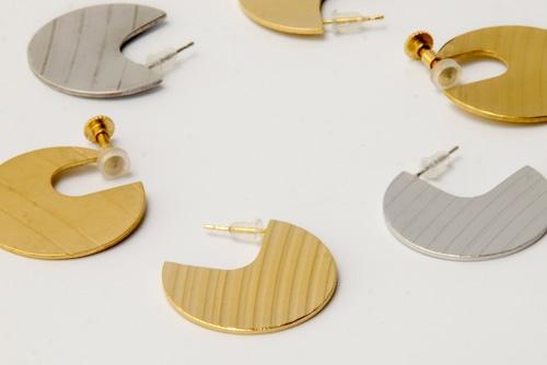 Circle cymbal earrings【イヤリング】