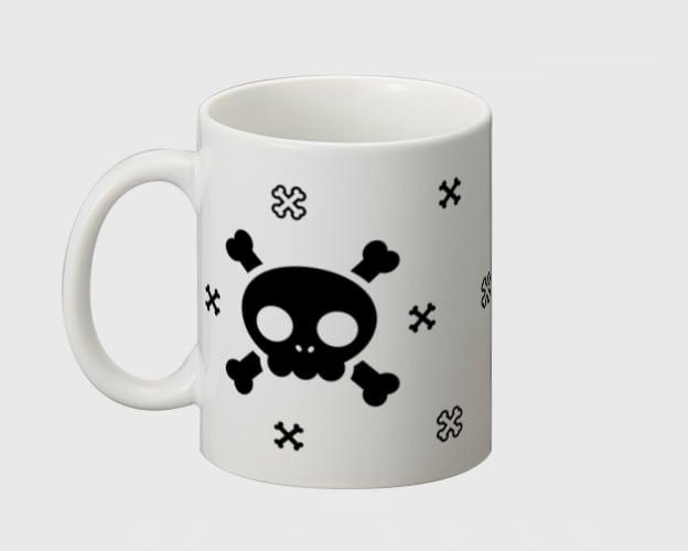 「キュートスカル2」マグカップ