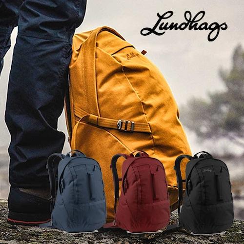 Lundhags 北欧生まれの 高機能 防水 バックパック Hakken 20 リュック デイパック 20L 丈夫で軽量 リサイクル素材 バッグ メンズ レディース ビジネス アウトドア キャンプ 旅行 登山 通勤 通学 バイク ルンドハグス