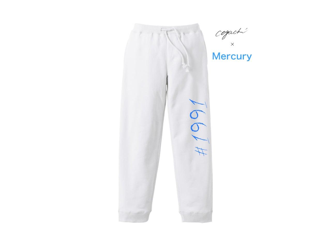 マーキュリー商事 Special Edition Collection 1991 sweat pants (WH/LBL)