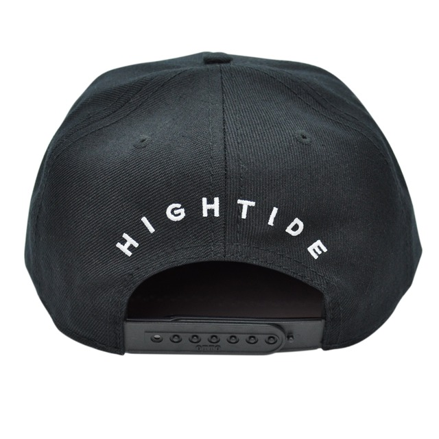 Flat visor Cap / Black&Black
