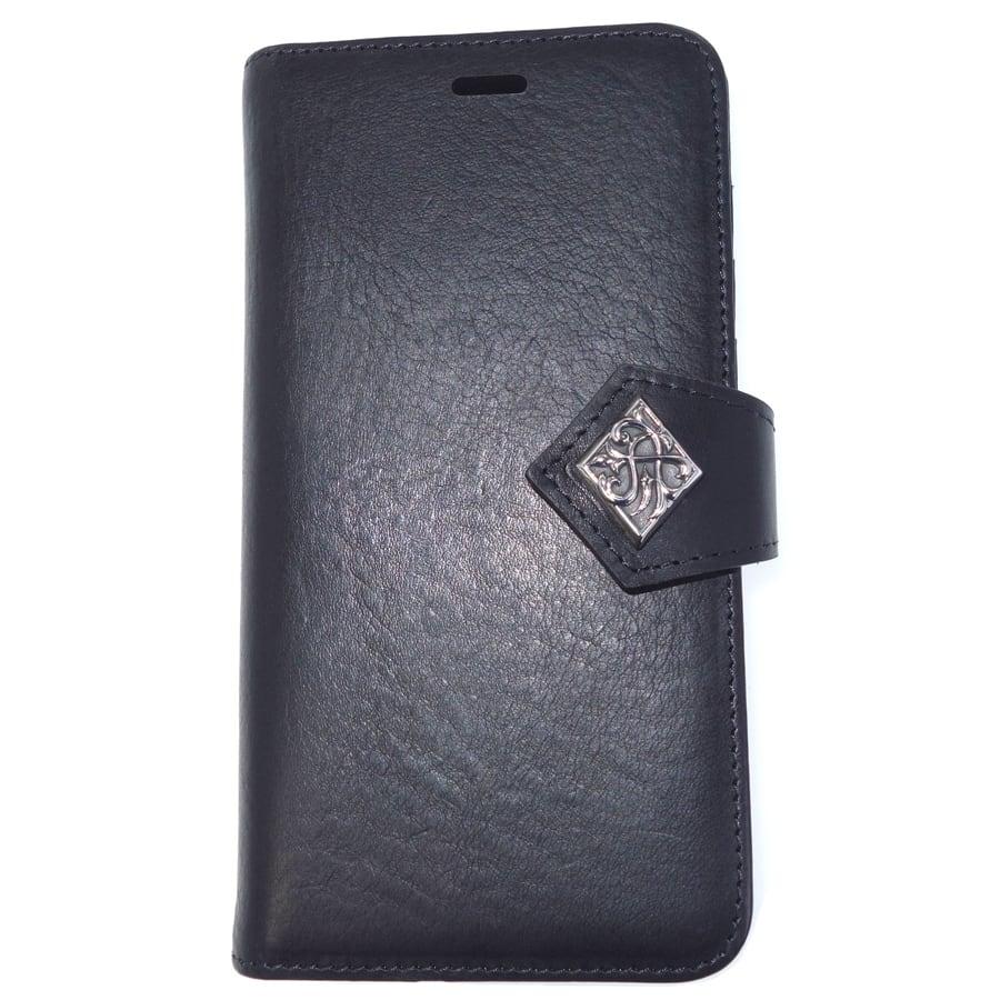 特別価格50%オフ 本革イタリアンレザー_iPhoneX_ブックケース ACEX0032 Genuine leather Italian leather_iPhoneX_book case